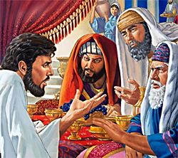 Free PowerPoint Sermon: Dinner with the Pharisees - Lessons on Leadership